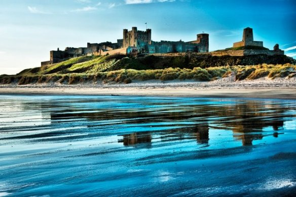 Bamburgh Castle - Tone Mapped.