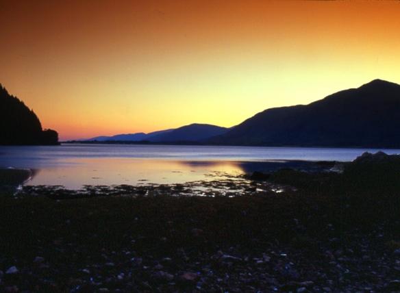 JPCV0134S-Loch Linnhe Sunset