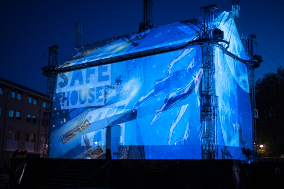 The finale to the Norfolk and Norwich Festival 2014 was a performance of Safe House.