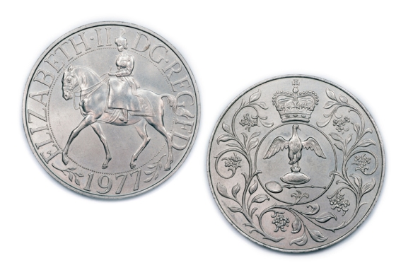Queens Silver Jubilee 1977